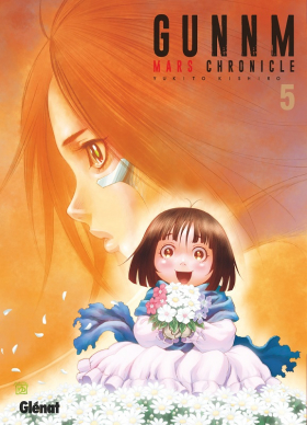 couverture manga Gunnm Mars chronicle T5
