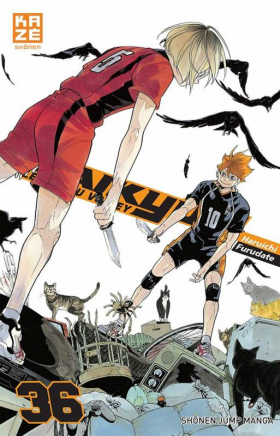 couverture manga Haikyû, les as du volley T36