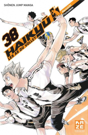 couverture manga Haikyû, les as du volley T38