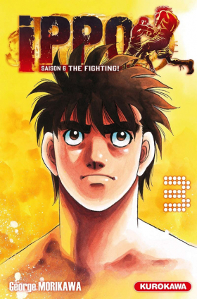 couverture manga Ippo – Saison 6 - The fighting, T3