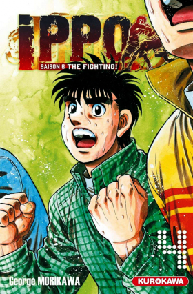 couverture manga Ippo – Saison 6 - The fighting, T4