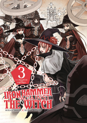couverture manga Iron hammer against the witch  T3