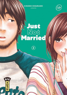 couverture manga Just not married T2