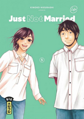 couverture manga Just not married T5