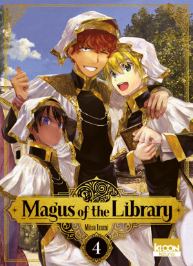 couverture manga Magus of the library T4