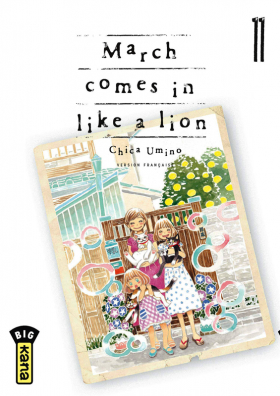 couverture manga March comes in a like a lion T11