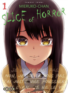 couverture manga Mieruko-chan Slice of horror T1