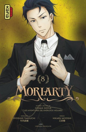 couverture manga Moriarty T8