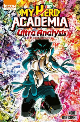 couverture manga Ultra analysis, Guide officiel