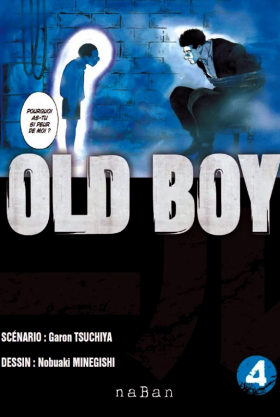 couverture manga Old boy T4
