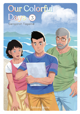 couverture manga Our colorful days T3