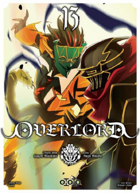 couverture manga Overlord T13
