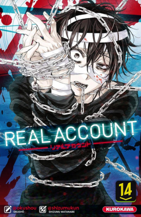couverture manga Real account T14