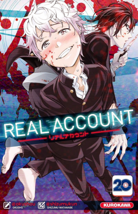 couverture manga Real account T20