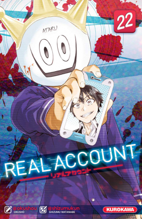 couverture manga Real account T22