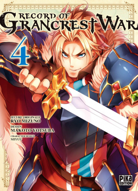 couverture manga Record of Grancrest war T5