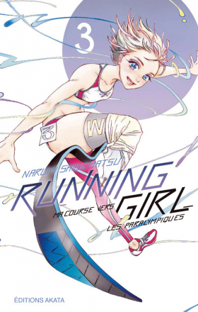 couverture manga Running girl T3