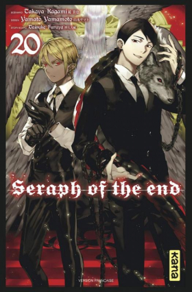 couverture manga Seraph of the end  T20