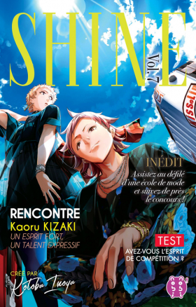 couverture manga Shine T7