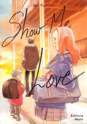 couverture manga Show me love