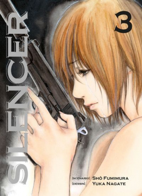 couverture manga Silencer T3