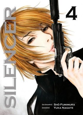 couverture manga Silencer T4
