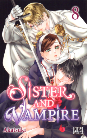 couverture manga Sister and vampire  T8