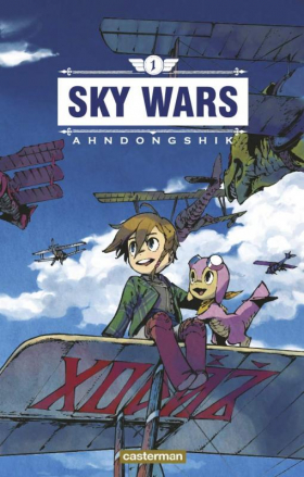 couverture manga Sky wars T1