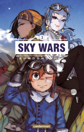 couverture manga Sky wars T3
