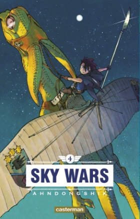 couverture manga Sky wars T4