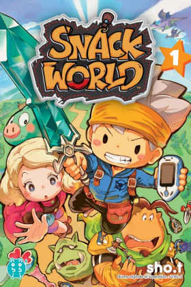 couverture manga Snack world T1