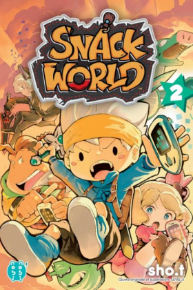 couverture manga Snack world T2