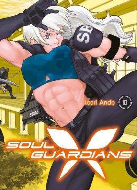 couverture manga Soul guardians T3