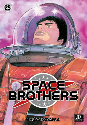 couverture manga Space brothers T25