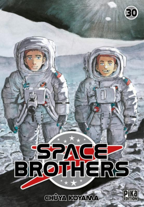 couverture manga Space brothers T30
