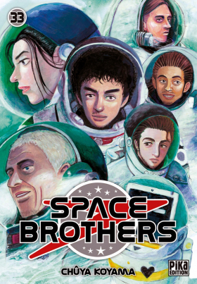 couverture manga Space brothers T33