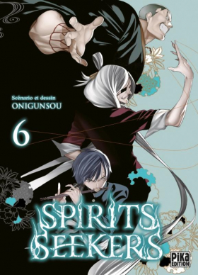 couverture manga Spirit seekers T6