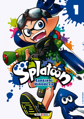 couverture manga Splatoon T1