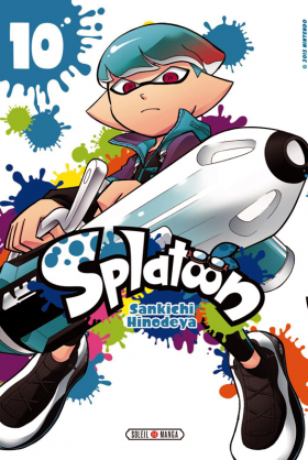 couverture manga Splatoon T10