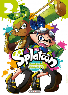 couverture manga Splatoon T2