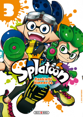 couverture manga Splatoon T3