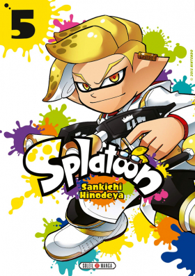 couverture manga Splatoon T5