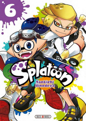 couverture manga Splatoon T6
