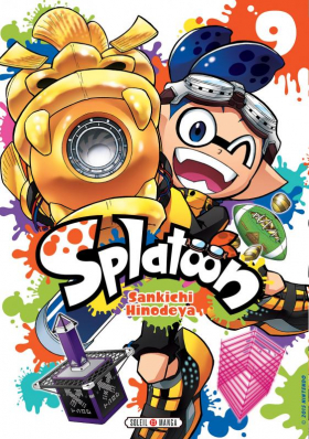 couverture manga Splatoon T9