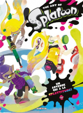 couverture manga The art of Splatoon