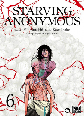 couverture manga Starving Anonymous T6