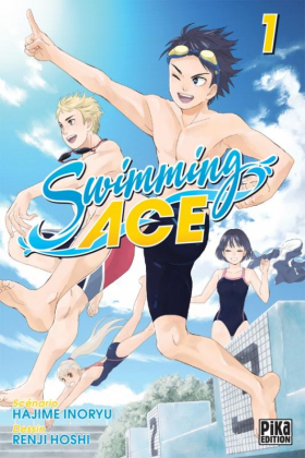 couverture manga Swimming ace T1