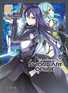 couverture manga Sword art online - Phantom Bullet   T2