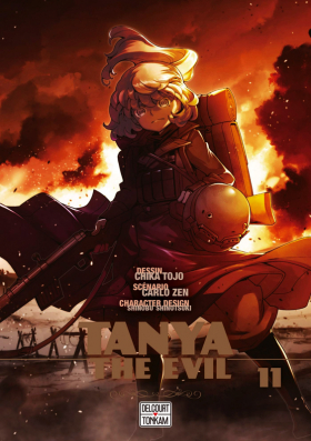 couverture manga Tanya the evil T11