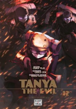 couverture manga Tanya the evil T12